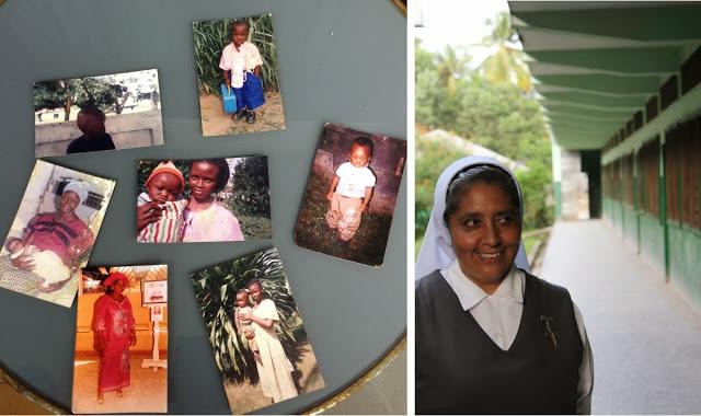 La hermana Elisa Padilla incluyó en el equipaje de Henry varias fotos de su infancia.